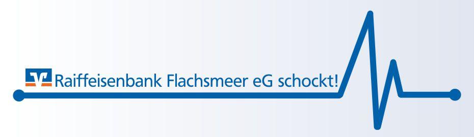 Raiffeisenbank Flachsmeer schockt - AED